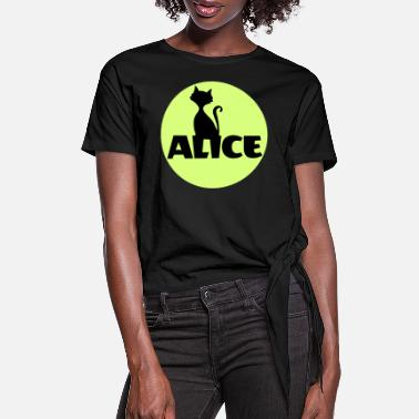 Name Day Alice First name Name Personal gift Name day - Women's Knotted T-Shirt