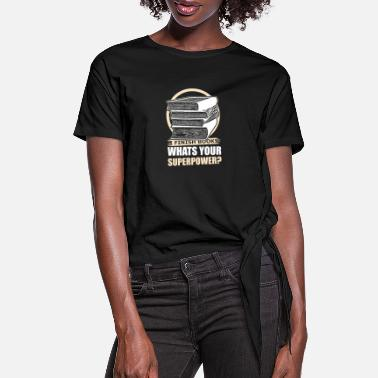 Novel Read novel thriller - Women's Knotted T-Shirt