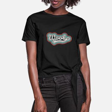 Wool Wool wool - Women's Knotted T-Shirt
