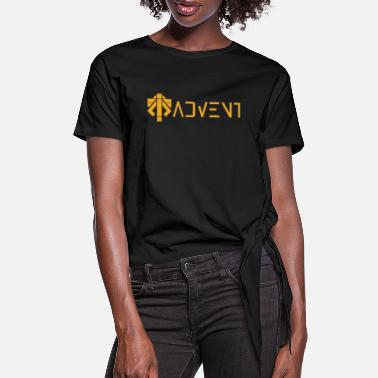 Advent advent coalition - Women's Knotted T-Shirt