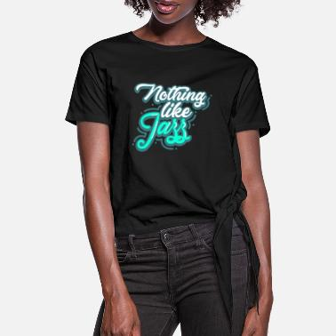 Jazz Jazz - Women's Knotted T-Shirt