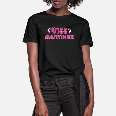 Missmapel Miss Martinez - Women's Knotted T-Shirt