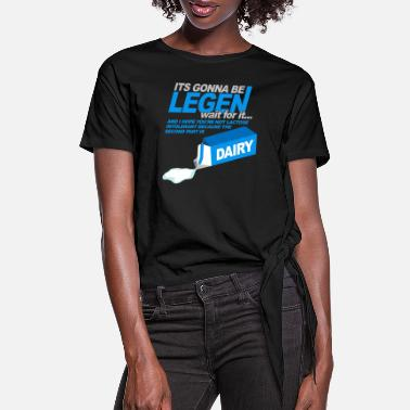 Mother Legendary How Met Mother - Women's Knotted T-Shirt