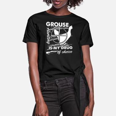 Grouse Grouse Hunting Shirt - Women's Knotted T-Shirt