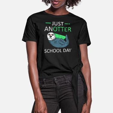 School Day School Day - Women's Knotted T-Shirt