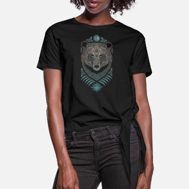 Viking FOREST LORD - Women's Knotted T-Shirt