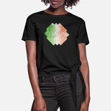 Turin Turin - Women's Knotted T-Shirt