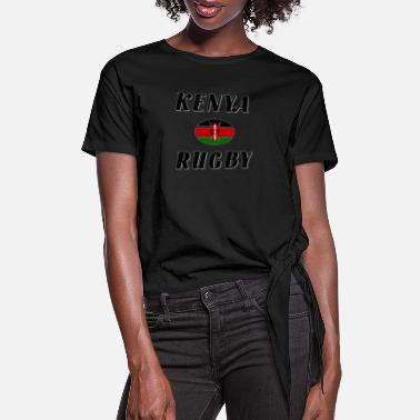 Rugby Kenya rugby - Women's Knotted T-Shirt