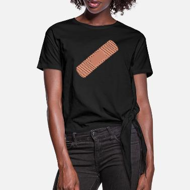 Plasters PLASTER - Women's Knotted T-Shirt