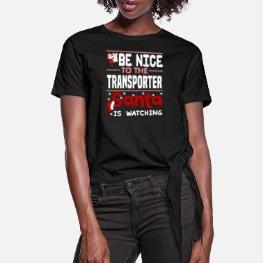 Transport Transporter - Women's Knotted T-Shirt