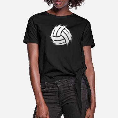 Beach Volleyball Volleyball beach volleyball - Women's Knotted T-Shirt