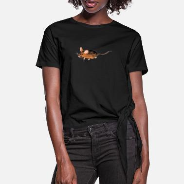 Rodent Rodent - Women's Knotted T-Shirt
