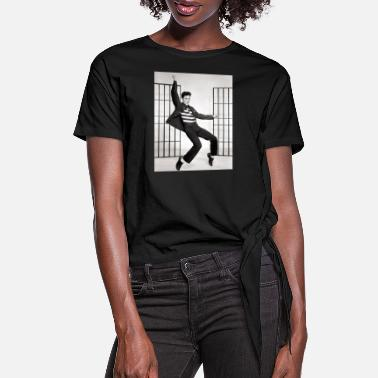 Jailhouse adolescent adult black and white 270968 - Women's Knotted T-Shirt
