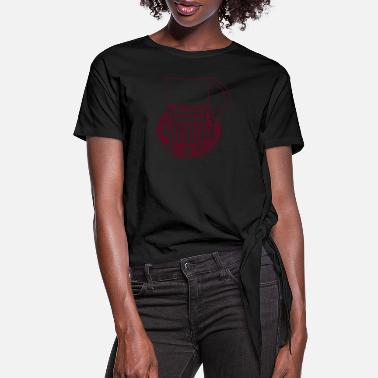 Sangria Sangria Saturday - Women's Knotted T-Shirt