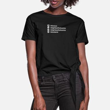 Advert SLC Adverts - Women's Knotted T-Shirt