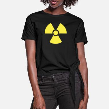 Radioactive Radioactive - Women's Knotted T-Shirt