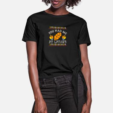 Temple Gift for Jewish holidays and commemorations - Women's Knotted T-Shirt