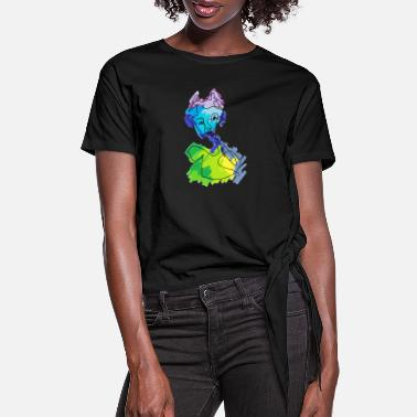 Affection Affect - Women's Knotted T-Shirt