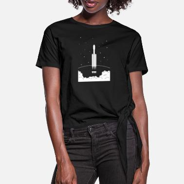 Heavy FalconHeavy - Women's Knotted T-Shirt