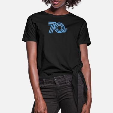 Seventy Seventies - Women's Knotted T-Shirt