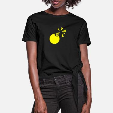 Bomb Bomb - Women's Knotted T-Shirt
