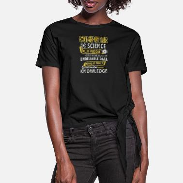 Computer Science Computer Science - Women's Knotted T-Shirt