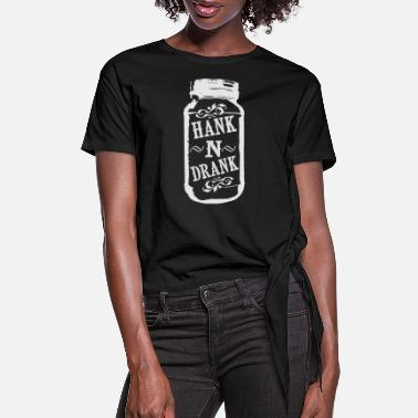Williams Hank and Drank - Women's Knotted T-Shirt