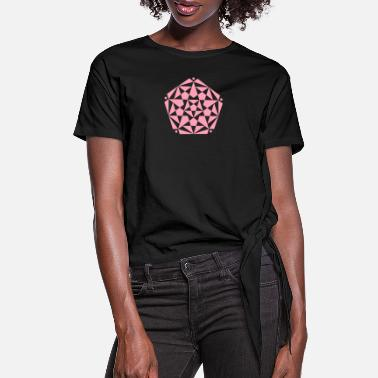 Crop Circle crop circles 20 - Women's Knotted T-Shirt