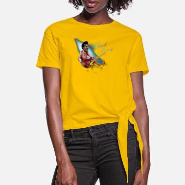 chuck berry - Women's Knotted T-Shirt