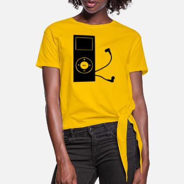 Mp3 mp3 player - Women's Knotted T-Shirt