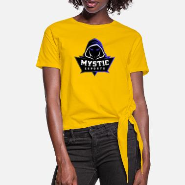 Rainbow Six Siege Mystic eSports Logo Purple - Women's Knotted T-Shirt