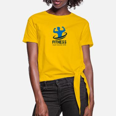 Fitness Fitness - Women's Knotted T-Shirt