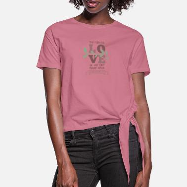 Word Lamentations 3 22 Shirt Word of God - Women's Knotted T-Shirt
