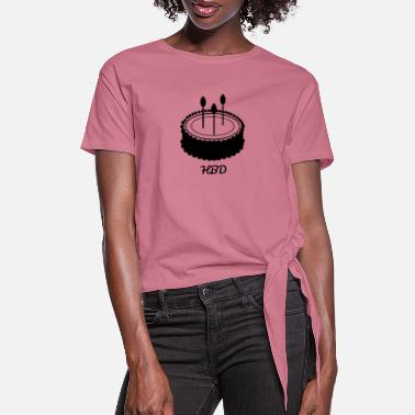 Bday B'day - Women's Knotted T-Shirt