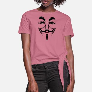 Anonymous Anonymous - Women's Knotted T-Shirt