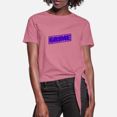 Grime GRIME - Women's Knotted T-Shirt