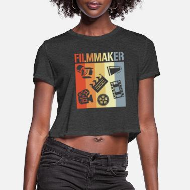 Television Video Producer - Women's Cropped T-Shirt