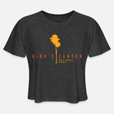 King's Canyon National Park - Women's Cropped T-Shirt