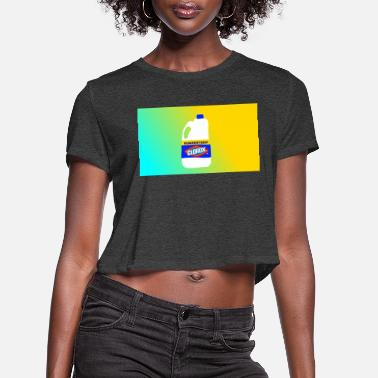 Art Design Bleach art designs! - Women's Cropped T-Shirt
