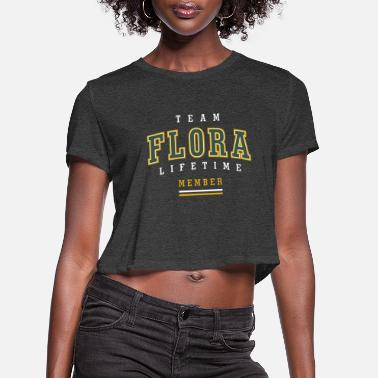 Flora Flora - Women's Cropped T-Shirt