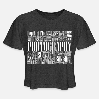 Photography - Women's Cropped T-Shirt