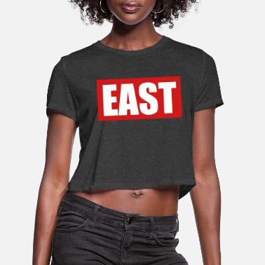 East East - Women's Cropped T-Shirt