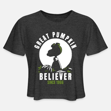 Believer Great Pumpkin Believer - Women's Cropped T-Shirt