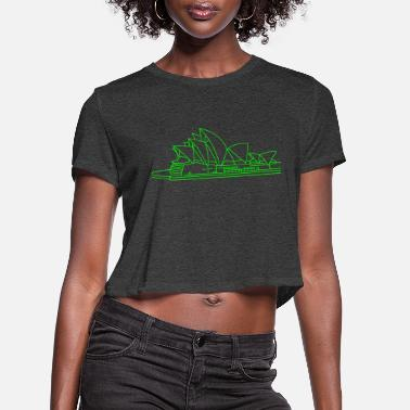 Opera House Opera House in Sydney - Women's Cropped T-Shirt