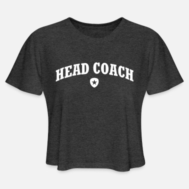 Head Coach HEAD COACH - Women's Cropped T-Shirt