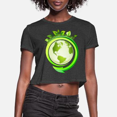 Ecology Ecology - Women's Cropped T-Shirt