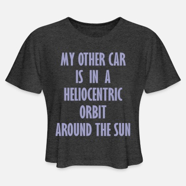 Orbiter Heliocentric Orbit - Women's Cropped T-Shirt