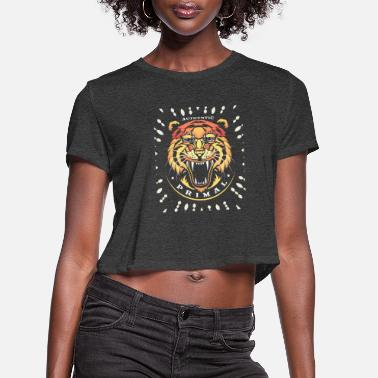 Primal primal - Women's Cropped T-Shirt