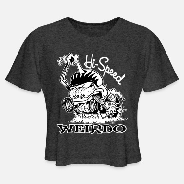 Rat Hi Speed Weirdo - Women's Cropped T-Shirt