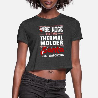 Thermals Thermal Molder - Women's Cropped T-Shirt